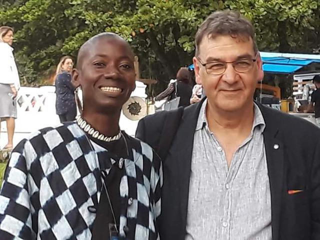 Patricia Gomis et Philippe Sidre